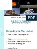 Ryan Galloway '11--Space Topic Overview Lecture[1]