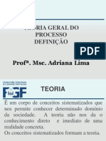 2 AULA DEFINIÇÃO DA TEORIA GERAL DO PROCESSO (1)