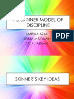 Skinner Model of Discipline