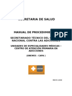 1. Manual de Procedimientos UNEMES CAPA