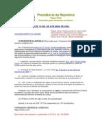 lei 10446_02 Dispõe sobre infrações penais de repercussão interestadual ou internacional que exigem repressão uniforme