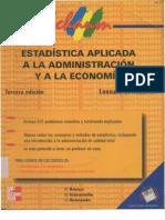 Estadística Aplicada a la Administración y la Economía - Leonard J. Kazmier
