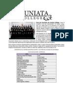 Concierto Juniata College en Guatemala
