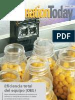 OEE en Industria Farmaceuitca
