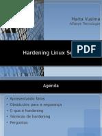 Hardening Linux Servers