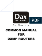 Dax Router Guide