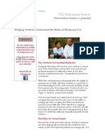 fcd ejournal - helping students understand the risks of marijuana use