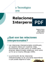 Relaciones Inter Person Ales