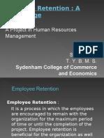 Employee Retention Project