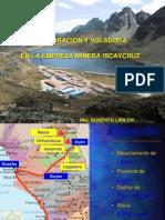 02-PV20 Perforacion y Voladura en La Empresa Minera Iscaycruz-PERU
