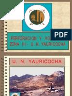 02-PV17 Perforacion y Voladura Zona 3 u n Yauricocha-PERU