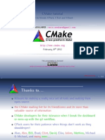CMake Tutorial 8feb2012