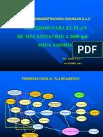 02-PL17 Criterios Para El Plan de Mecanizacion a 2000 Tpd Mina Animon-PERU
