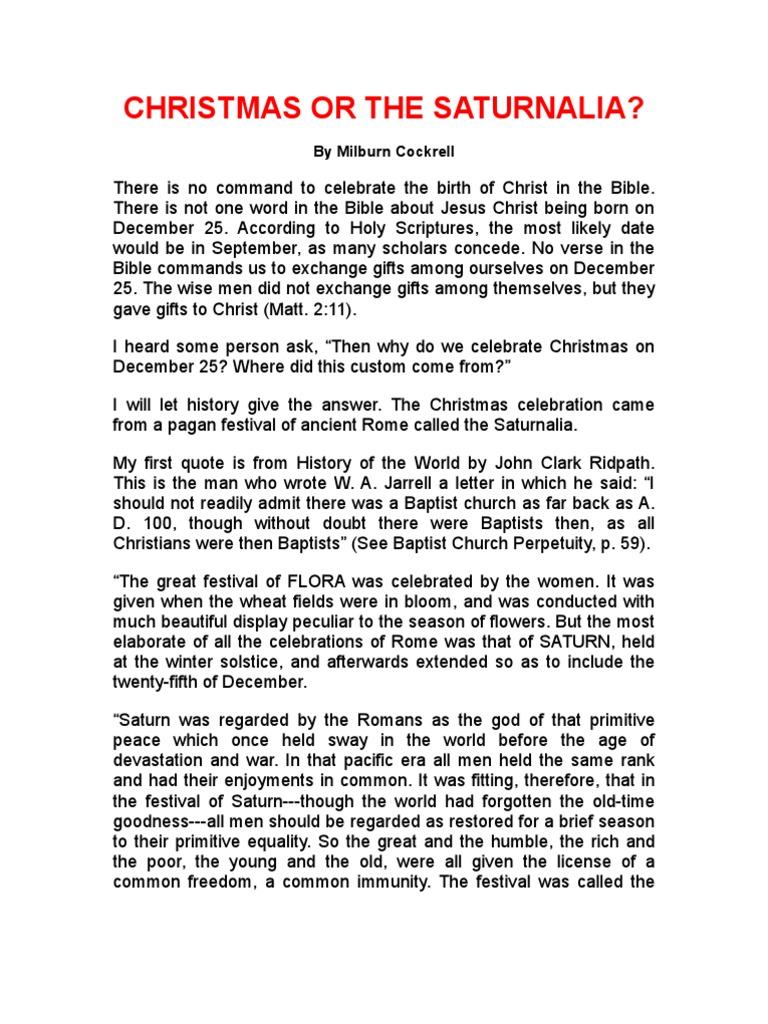 Christmas or the Saturn Ali A | Christmas | Religious Behaviour And ...