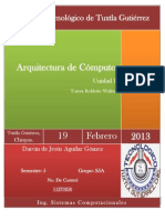 Unidad I - Arquitectura Cómputo