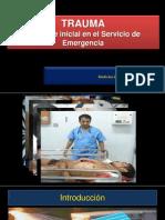 Abordaje Inicial del Trauma en el Servicio de EMG