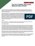4 FRACTURA DISTAL DE LA PIERNA ENCLAVADO INTRAMEDULAR ÚNICA OPCIÓN