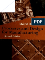 Processes and Design for Manufacturing 1998