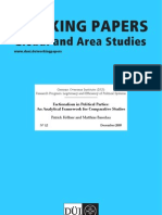 Working Papers of Factions and Politics Parties