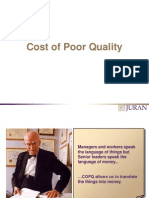 Cost of Poor Quality