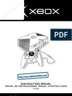 Original Xbox manual user guide