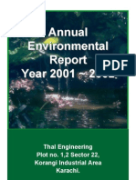 Annual Env. Report