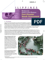 Typhoon Ondoy and Pepeng Post Disaster Needs Assessment