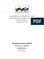 UNIVERSIDADE DO VALE DO SÃO FRANCISCO(bioquimica)