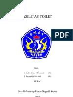 Angket Fasilitas Toilet