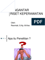 PENGANTAR riset