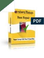 OpenOffice Base Repair Software