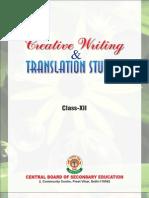 Creative Writing Xii Pre