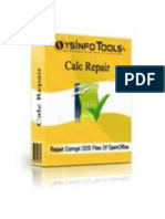 OpenOffice Calc Recovery Software