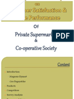 Private Supermrkt vs. Cooperative Societies