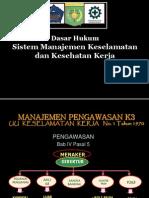 Dasar Hukum Smk3