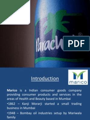 Parachute Ppt | Brand | Retail
