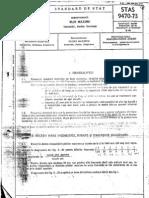 STAS 9470-73 Hidrotehnica - Ploi Maxime - Intensitati, Durate, Frecvente