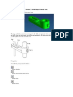Project 7 - Modeling a Control Arm