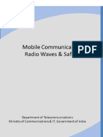 Www.dot.Gov.in_electrical_Mobile Communication-Radio Waves and Safety 10th Sept 12 Final