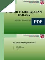 M8- Faktor2 Pembelajaran Bahasa.ppt