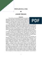 Joaquin Trincado - Profilaxis de La Vida