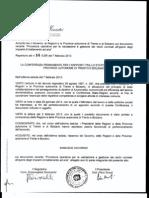 LA CONFERENZA PERMANENTE PER IL RAPPORTO TRA LO STATO, LE REGIONI E LE PROVINCE AUTONOME DI TRENTO E BOLZANO
