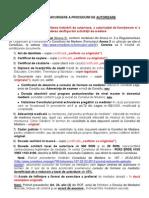 Ghid de Parcurgere a Procedurii de Autorizare Actualizat La 15.02.2013
