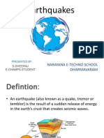 Earthquakes Notes