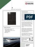 Panneau photovoltaïque Kyocera KD210GH-2P