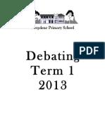 Debating Booklet