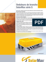 Fiche Technique SolarMax 2000S à 6000S
