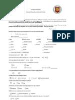 Questionnaire Legal