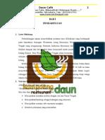 Proposal Cafe Daun