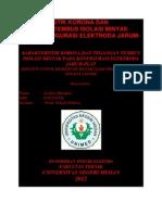 Karakteristik Korona Dan Tegangan Tembus Isolasi Minyak Pada Konfigurasi Elektroda Jarum